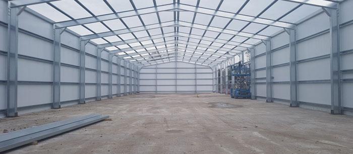 Steel Framed Buildings Devon