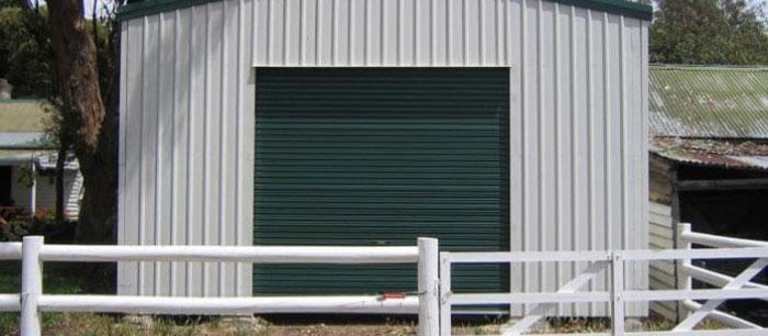 Steel Frame Farm Buildings Devon