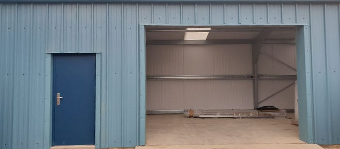 Case Study – A Turnkey Package for Steel Storage Shed