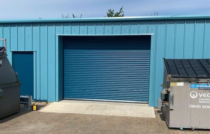 Steel Frame Workshop design