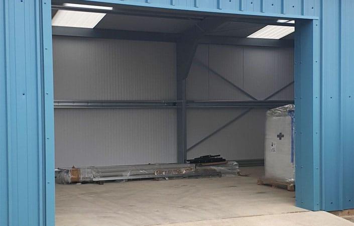 Steel Portal Frame Shed