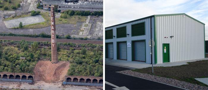 Industrial Steel Buildings Bedfordshire